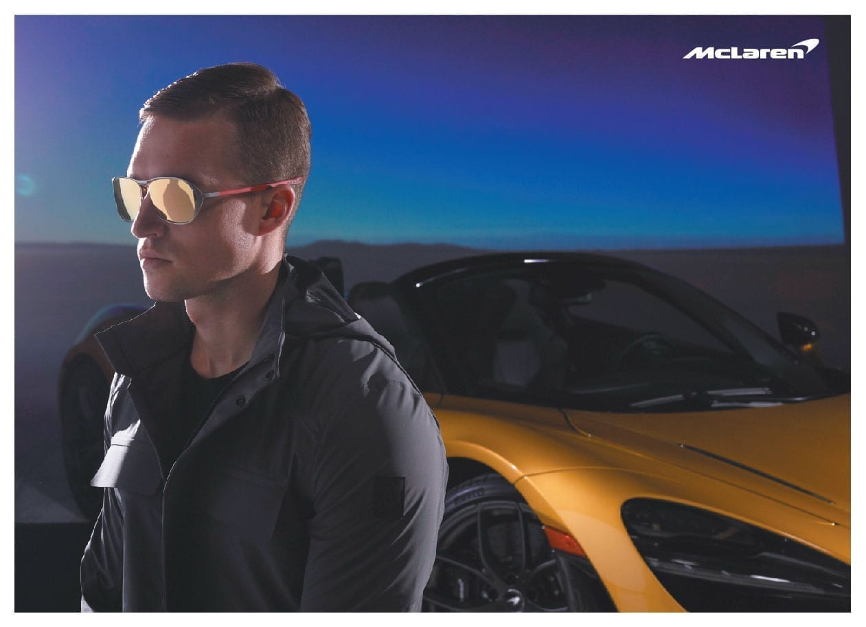 McLaren's Cutting-edge Tech Resonates In Its Eyewear
