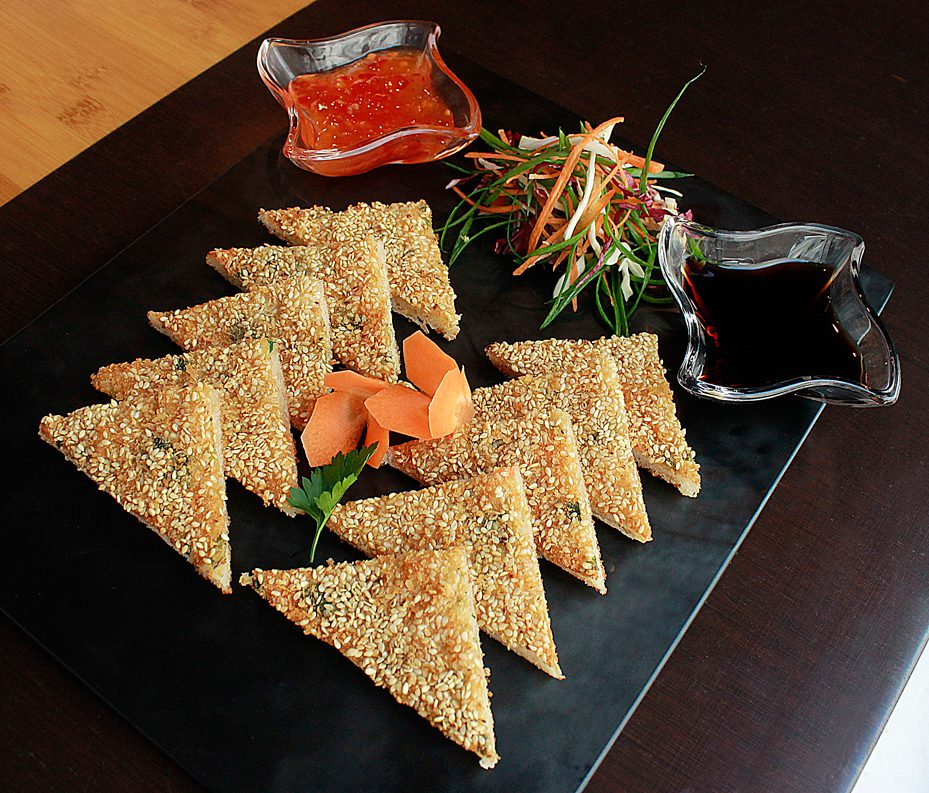 Prawn Sesame Toast: The Crunchy Starter Recipe