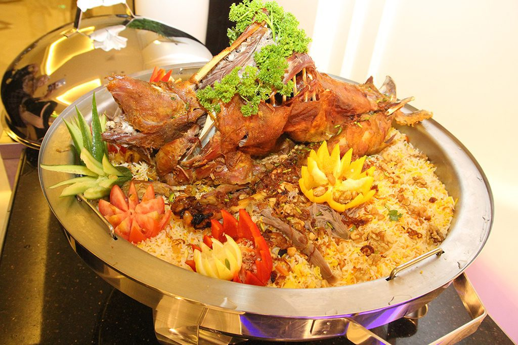 The Ajman Palace Hotel Grand Iftaar Menu